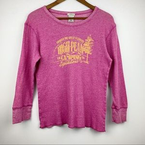 Old Navy Thermal Long Sleeve Graphic Shirt